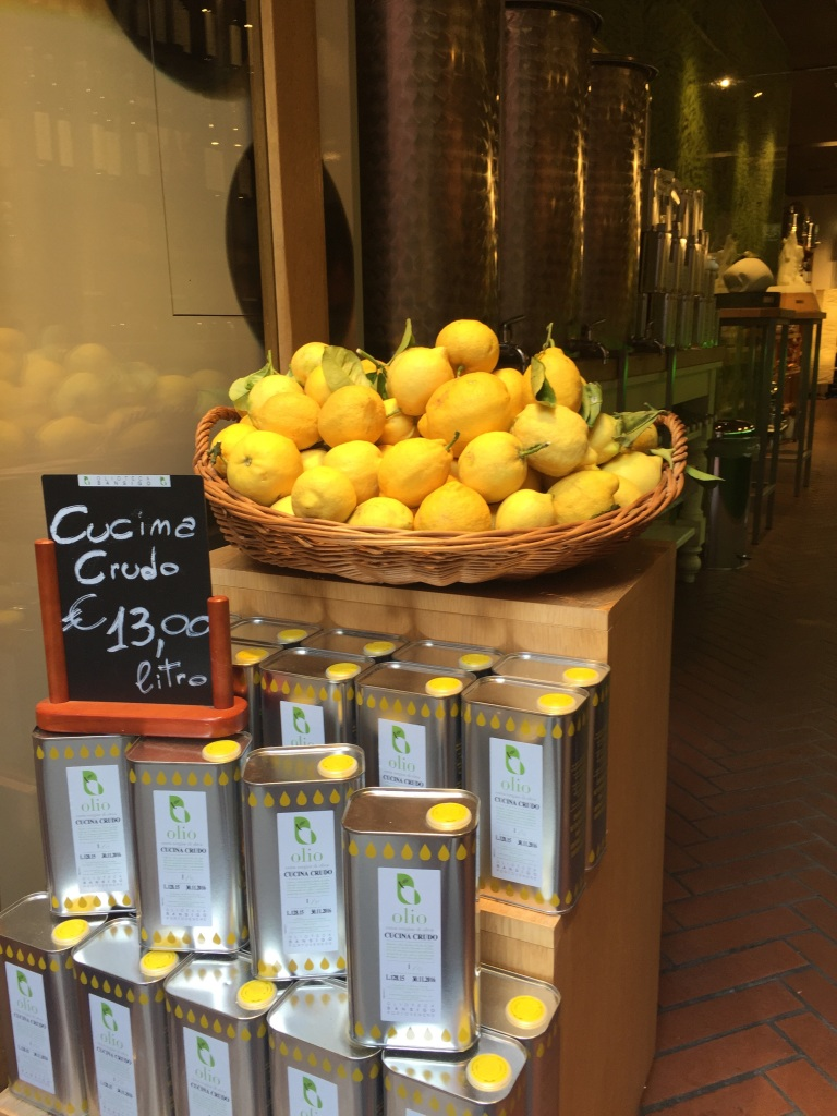 This is a pic of lemons from Italy this summer. We took an amazing trip to Italy, Croatia, Turkey & Greece.... I always find lemons wherever I am.