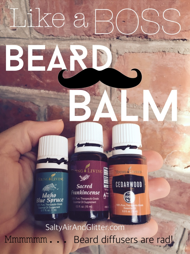 Having this blen of oils on your beard & mustache will totally change your life❤️