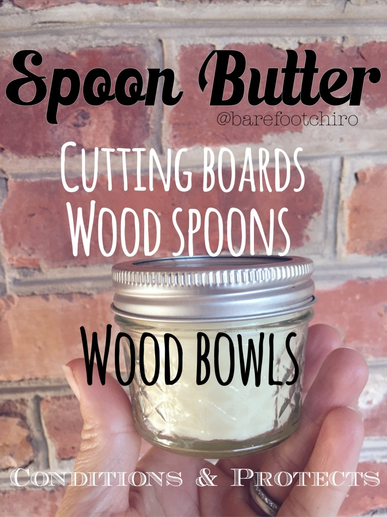This is one of my favorite ways to condition my wood spoons, bowls & cutting boards.