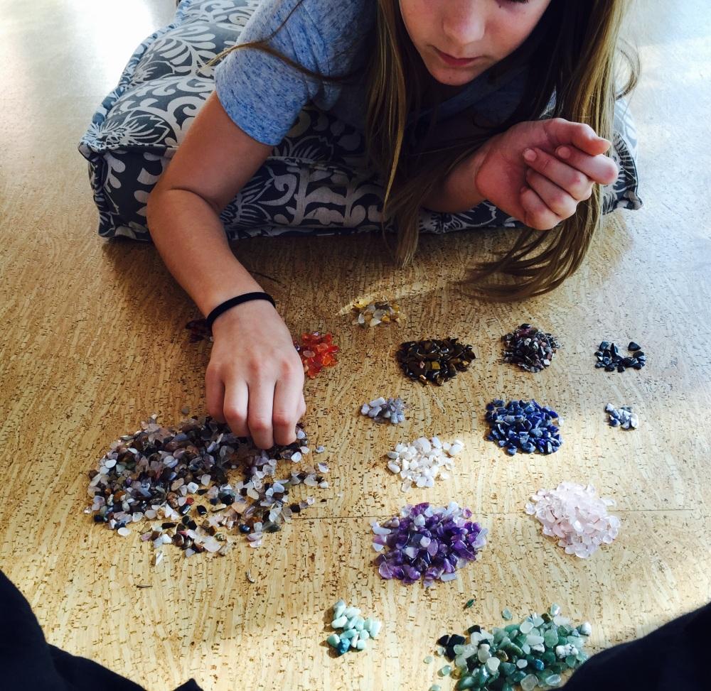Sorting crystals