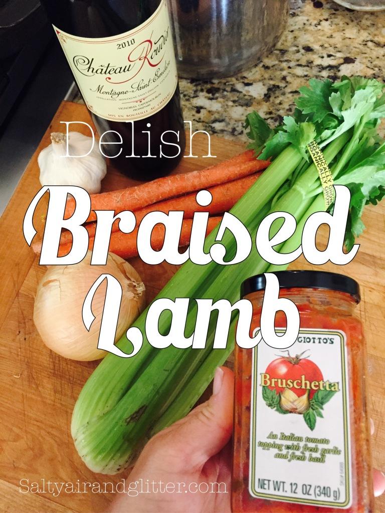 This braised lamb dish is so easy & delish!