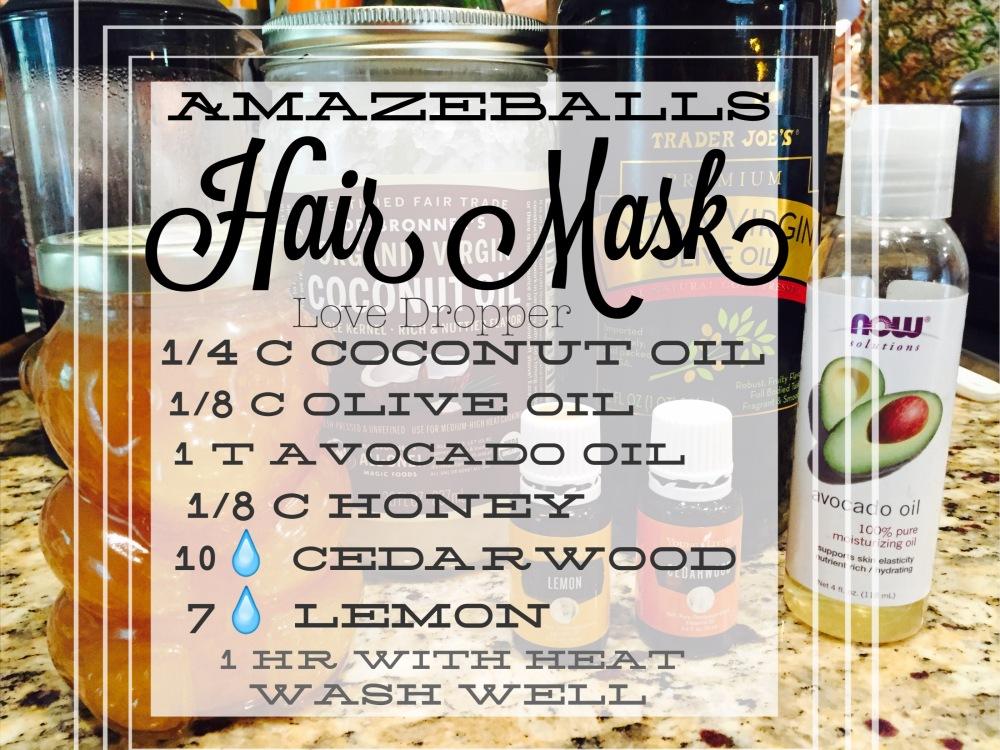 Golden honey hair mask is easy & works amazing✨